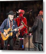 Willie Nelson - Live In Austin Metal Print
