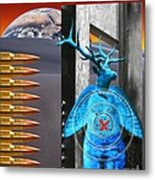 Willing Target Shot From The Inside Out Metal Print