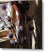 Willow And Cotton Metal Print