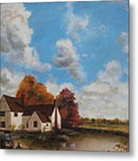 Willy Lott's Cottage Metal Print by Cecilia Brendel