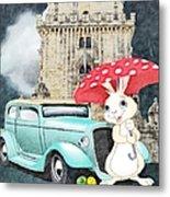 Willy The Wabbit Urrr I Mean Rabbit Metal Print