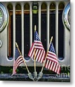 Willys Jeep Metal Print