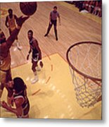 Wilt Chamberlain Finger Roll  Metal Print by Retro Images Archive