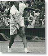Wimbledon Championships - Second Day..., Althea Gibson In Metal Print