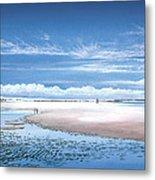 Winchelsea Beach Metal Print