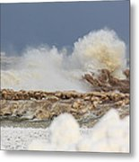 Wind And Ice Metal Print