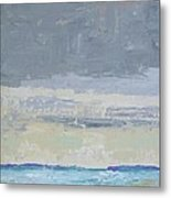 Wind And Rain On The Bay Metal Print