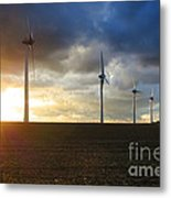 Wind And Sun Metal Print by Olivier Le Queinec
