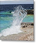 Wind And Waves Metal Print