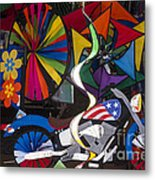 Wind Art Metal Print