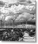 Wind Dancer Palm Springs Metal Print by William Dey