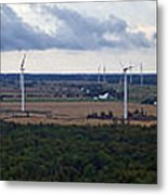 Wind Energy Panorama Metal Print
