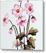 Wind Flowers Metal Print