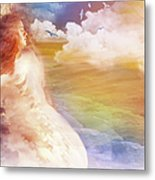 Wind Of His Glory Metal Print by Jennifer Page