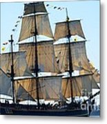 Wind On Sail Metal Print