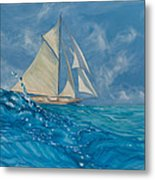 Wind On The Water Metal Print
