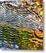 Wind Ripples Metal Print