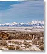 Wind Rivers Metal Print