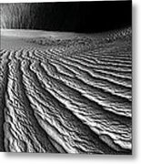Wind Sand Light And Time Metal Print