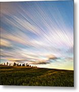 Wind Stream Streaks Metal Print by Matt Molloy