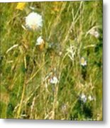 Wind Through The Meadow Metal Print