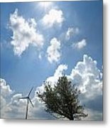Wind Turbine  Metal Print