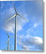 Wind Turbine Farm Metal Print