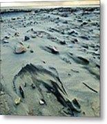 Windblown Beach Metal Print
