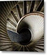 Winding Down Metal Print by Joan Carroll
