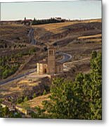 Winding Segovia Roads Metal Print by Viacheslav Savitskiy