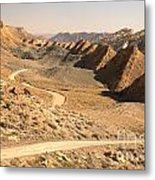 Winding Through The Coxcomb Metal Print