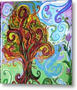 Winding Tree Metal Print