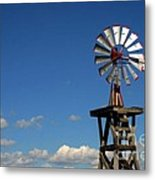 Windmill-5749b Metal Print