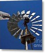Windmill Aermotor Company Metal Print