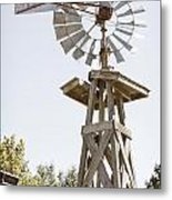 Windmill Antique In Color 3005.02 Metal Print