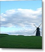 Windmill In Southern England Metal Print