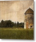 Windmill Metal Print by Lesley Rigg