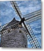 Windmill Of La Mancha Metal Print