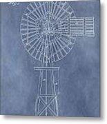 Windmill Patent Metal Print