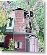 Windmill - Photopower 1555 Metal Print