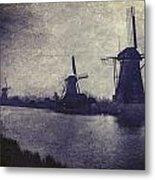 Windmills Metal Print by Joana Kruse