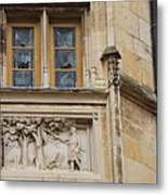 Window And Relief Palace Ducal Metal Print