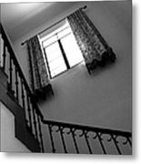 Window And Stairs Metal Print