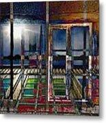 Window Dreaming Metal Print