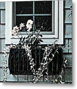 Window Dresser Metal Print by Bonnie Bruno