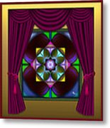 Window Dressing 2 Metal Print