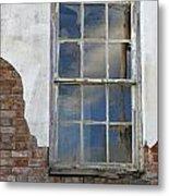 Window Elizabethtown Illinois Metal Print