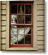 Window - Glimpse Into The Past Metal Print