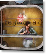 Window - Hoboken Nj - Hale And Hearty Soups  Metal Print by Mike Savad
