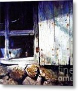 Window In A Cottage Metal Print